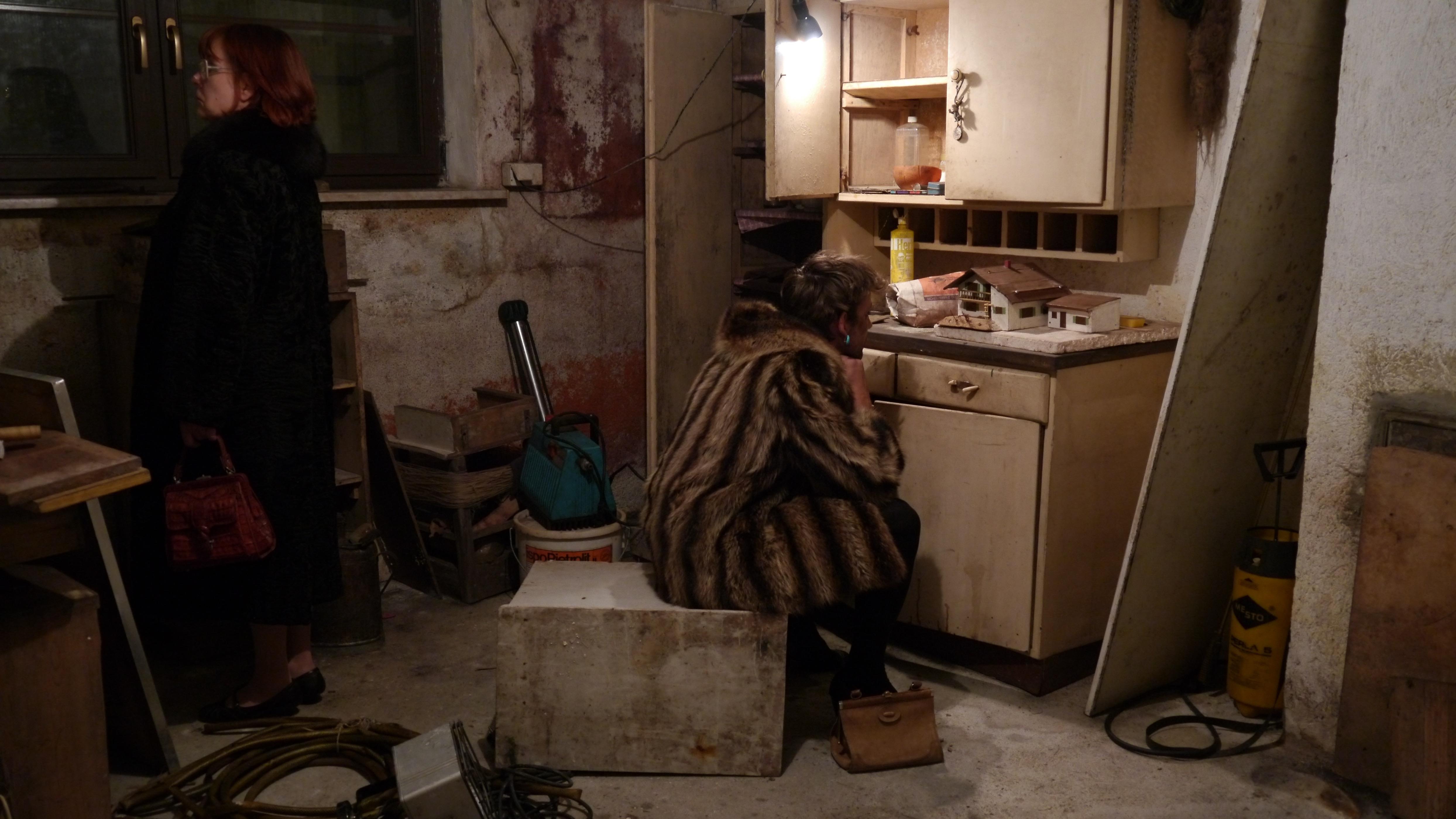 House, Mother, Son, C-Print, 70 x 40 cm, 2012